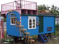 """Home on wheels Der Original """"Löwenzahn"""" Bauwagen by SteffenKahl"""