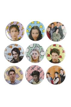 FREAKS AND GEEKS BUTTONS