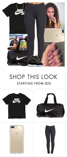 """""""Untitled #800"""" by msixo ❤ liked on Polyvore featuring NIKE, Speck, NYDJ and Bianca Pratt"""