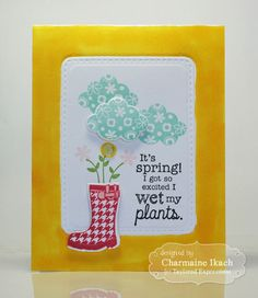 Wet My Plants by Charmaine Ikach*