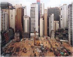 Andreas Gursky - 1994 Hong Kong Island