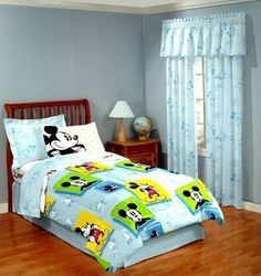 Disney Mickey Mouse Comforter Twin Size Bedding by Classy Joint, http://www.amazon.com/dp/B004SPT6SA/ref=cm_sw_r_pi_dp_z4S1pb0ZY4KF0