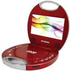 Sylvania® SDVD7046 7″ Portable DVD Player