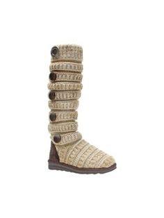 92cde026e79 Women s MUK LUKS Miranda Marled Texture Stripe Boot