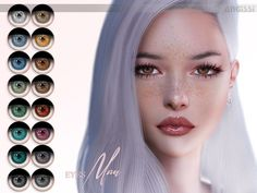 *Facepaint category Found in TSR Category 'Sims 4 Female Costume Makeup' Sims 4 Mods Clothes, Sims 4 Clothing, Sims Mods, Sims 4 Cc Eyes, Sims Cc, The Sims 4 Download, Beautiful Hair Color, Sims Community, Sims Resource