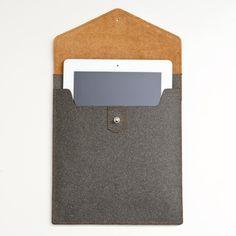 Two Tone Leather iPad Case poketo  $64