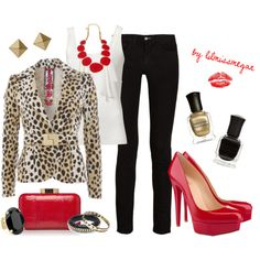 Red Hot Cheetah! - Polyvore