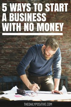 Do you have a great business idea but don't have the money to get it off the ground? With online courses and e-books telling you about the large sum of money required to invest in your business, you have probably taken that dream and placed it in a box up high on a shelf.