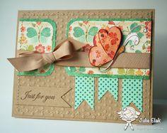 Mariposa de la primavera por Humma - Tarjetas y artesanales de papel en Splitcoaststampers
