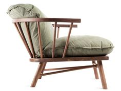Frederic Frety Neo Shaker Lounge Chair | Environment Furniture