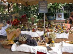 The Arles market, Provence