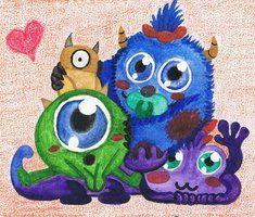 Baby Monsters INC by SoraShiranui
