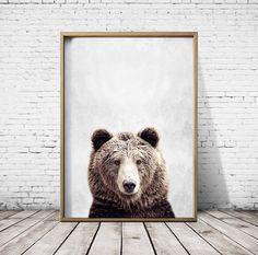 Bear Print Bear Poster Bear Art Animal Print Nature Print Print Styler by PrintStyler on Etsy https://www.etsy.com/transaction/1383715794