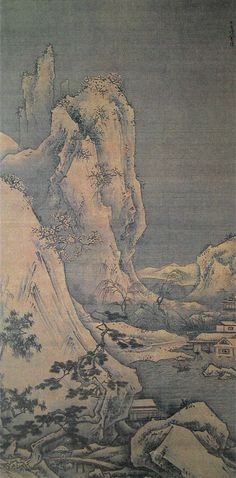 Winter Landscape by Sesshu (1420-1506)