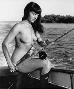 Bunny Yeager photo of Bettie Page