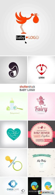 Baby Logo - 25xEPS