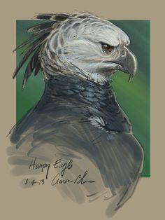 Harpy by Aaron Blaise