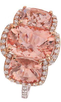 {Pink Ring of Gorgeo beauty bling jewelry fashion I Love Jewelry, High Jewelry, Bling Jewelry, Jewelry Design, The Bling Ring, Pink Ring, Pretty Rings, Beautiful Rings, Ringa Linga