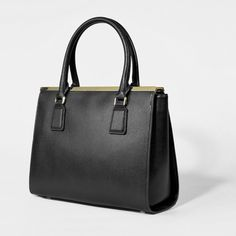 Frame Top Handbag - Gold - Tote - Bags   CHARLES & KEITH