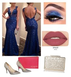"""Get the Look: Met Gala 2016"" by anjana-akanksha on Polyvore featuring Kate Spade, Smashbox, GetTheLook and MetGala"