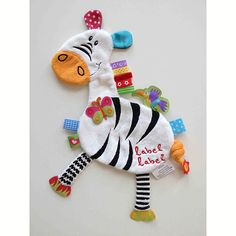 Doudou 'Etiquettes Friends' par Label Label