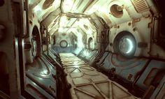 ArtStation - Deck 7 environment, Tor Frick