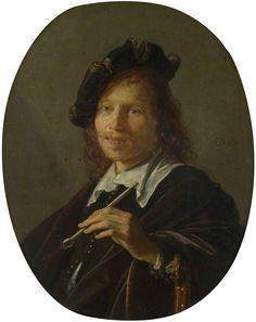 Gerrit Dou - Portret van een man (1638)