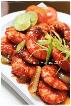 Asian Recipes, Healthy Recipes, Ethnic Recipes, Fun Cooking, Cooking Recipes, Seafood Recipes, Dinner Recipes, Malay Food, Indonesian Cuisine