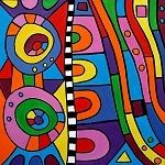 The Art of Amanda Hone - Gallery - Colour Block Abstracts