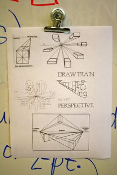 5th grade one point perspective | Dali's Moustache
