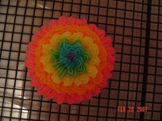idea for tie dye frosting if I can't get the other way to work! LOL