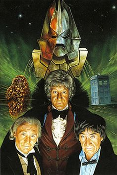 Doctor Who: The Three Doctors, artwork by Colin Howard