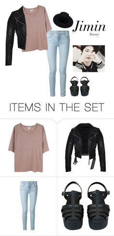 """late night walk outfit with jimin"" by effie-james ❤ liked on Polyvore featuring art, simple, kpop, korean, bts i jimin"