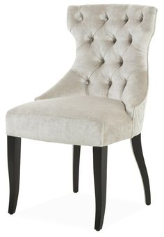 Guinea - Dining Chairs - For Sale: The Sofa & Chair Company - we manufacture some of the most beautiful upholstered furniture in London. Dining Chairs For Sale, Sofa And Chair Company, Company Profile, Upholstered Furniture, Beautiful Space, Sofa Chair, Arcade, Accent Chairs, Lifestyle