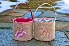 Quality Sewing Tutorials: Felt Easter Bucket tutorial from Zaaberry