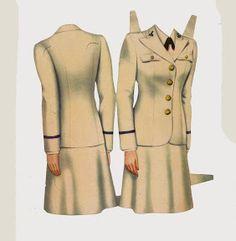 Girls in Uniform 1943 Pachrter Co - Bobe Green - Picasa Web Albums