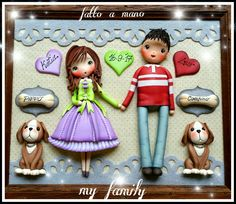 Family polymer clay