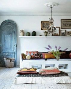 Simple, Moroccan style home decor. Xo, LisaPriceInc.
