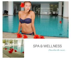 Step into a sanctuary of reinvigoration and serenity at the indoor ‪pool‬ of Grecian Sands Hotel Cyprus. A genuine ‪Spa‬ & ‪Wellness‬ experience for your pleasure only! Grecian Sands, Sands Hotel, Lasting Memories, Wellness Spa, Cyprus, Serenity, Bikinis, Swimwear, Indoor