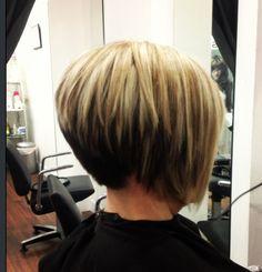 Short haircut/ highlights by AmberD