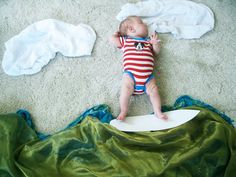Adele Enersen is a creative mother and photographer from Finland. Check out 10 Most Creative Sleeping Baby Photos By Adele Enersen. So Cute Baby, Baby Love, Cute Babies, Baby Kids, Fun Baby, Surfer Baby, Surfer Dude, Soul Surfer, Adele