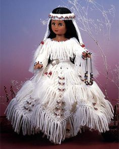 Do Fun!® Projects - Indian Princess IV, I just love this doll can see it having pride of place in a little girls room.