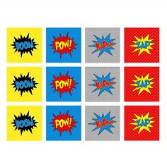 free images heroes | super hero printable cupcake toppers 2 you ll receive the super hero ...