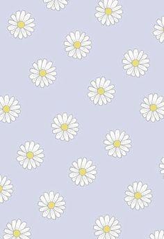 Daisy Wallpaper, Iphone Wallpaper Vsco, Homescreen Wallpaper, Cute Patterns Wallpaper, Iphone Background Wallpaper, Cute Disney Wallpaper, Aesthetic Pastel Wallpaper, Tumblr Wallpaper, Print Wallpaper
