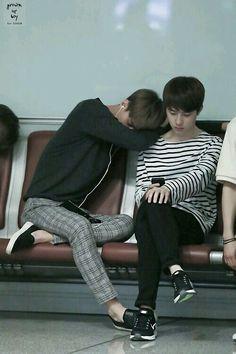 sehun and kyungsoo // exo