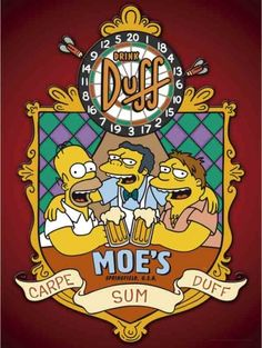 The Simpsons - Moe's Carpe Sum Duff