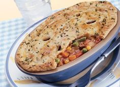 Deep-Dish Ground Beef Pot Pies Recipe