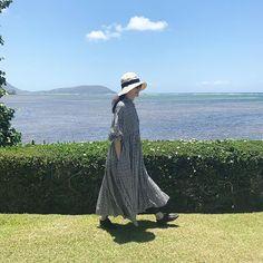 7月のハワイでも、9月のモロッコでも活躍したギンガムチェックのワンピース、ただいま店頭に並んでいます。新宿伊勢丹でのポップアップ・ショップ、いよいよ明日までの開催です! #houseoflotus #ハウスオブロータス #ワンピース