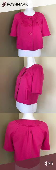 Ann Taylor LOFT Ann Taylor LOFT Short Sleeve Jacket LOFT Jackets & Coats