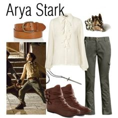 Fandom Fashion! Character: Arya Stark Fandom: Game of Thrones/A Song of Ice and Fire Buy it here!